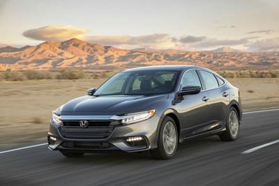 The 2019 Honda Insight makes its global debut at the 2018 NYIAS.