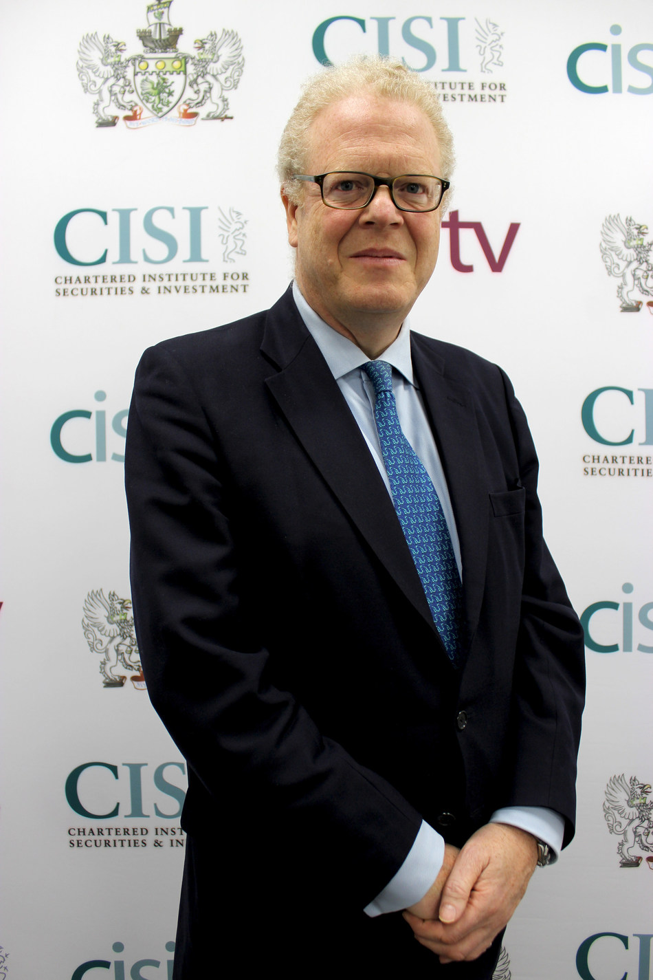 Michael Cole-Fontayn, Chairman, Chartered Institute for Securities & Investment (CISI). (PRNewsfoto/CISI)