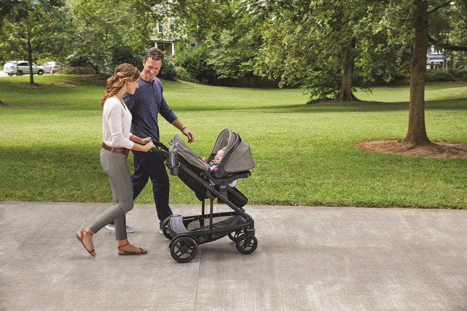 New Graco(R) Uno2Duo(TM) Stroller Is Designed To Grow With Families, Easily Extends To Accommodate A Second Child