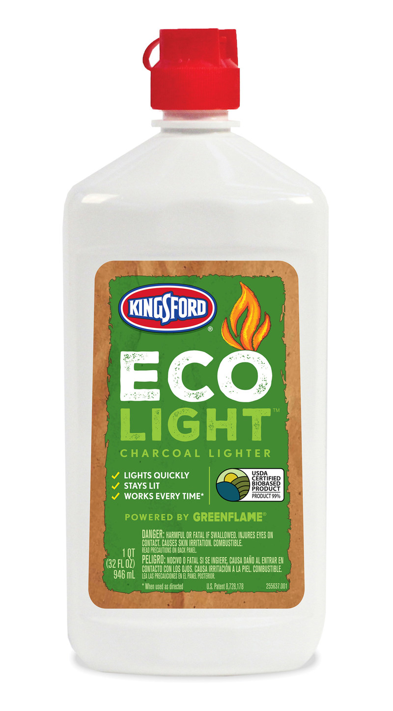 Green Biologics Partners With Kingsford Charcoal to Launch New EcoLight Natural Charcoal Lighter Fluid