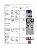Uncertified USB chargers (CNW Group/Health Canada)
