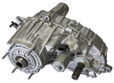 BorgWarner's latest all-wheel drive transfer case features new Electro-Mechanical On-Demand (EMOD) technology to deliver faster response and higher torque output for better on- and off-road performance.