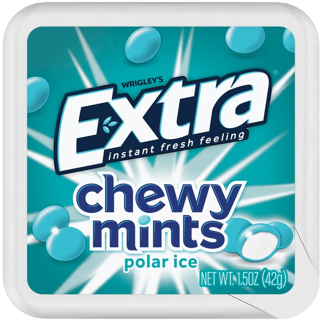 New Extra® Chewy Mints Deliver an Instant Fresh Feeling