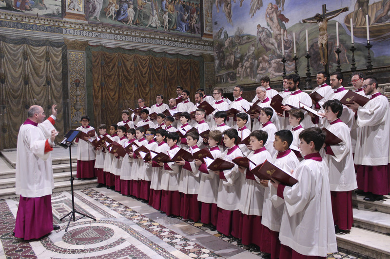 Maestro Msgr. Massimo Palombella & The Sistine Chapel Choir