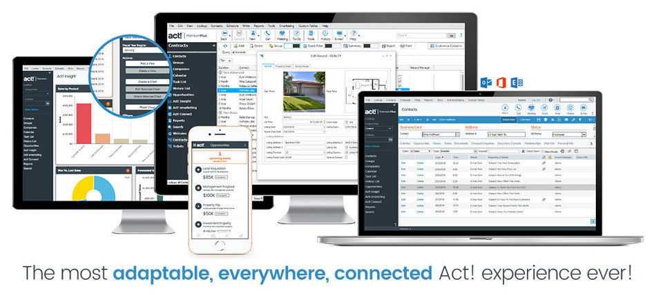 Act! Premium Plus and version 20.1 deliver the most adaptable, everywhere, connected Act! experience ever!