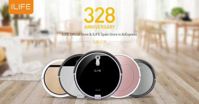 ILIFE Spring Promotion at AliExpress 328 Anniversary Sale