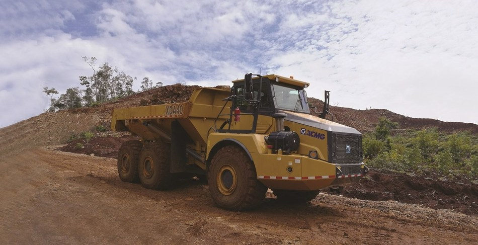 XCMG's USD 31.63 Million Order of Dump Trucks Are Delivered to Central Asia and South Africa.
