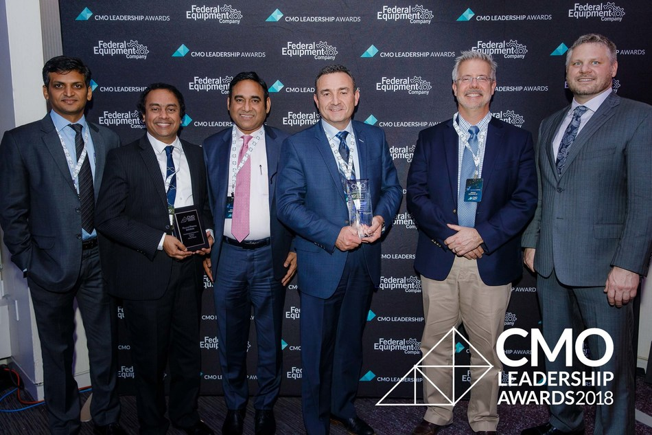 Piramal Pharma Solutions Team receives the CMO Leadership Awards 2018 (PRNewsfoto/Piramal Pharma Solutions)