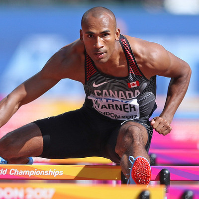 Damian Warner, Athletics. Photo: Claus Andersen (CNW Group/Commonwealth Games Association of Canada)