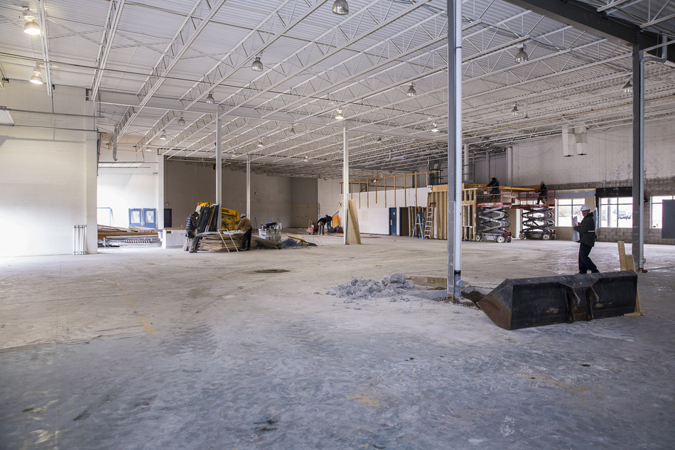 AB Labs Phase Two, 40,000 Sq. Ft. Production Facility Under Construction (CNW Group/Invictus MD Strategies)