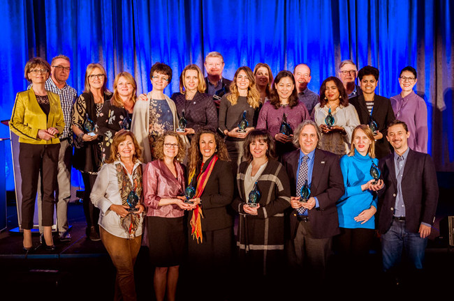 The International Coach Federation celebrated 16 high-performing chapters during its 2018 Global Leaders Forum in Vancouver, British Columbia, Canada.