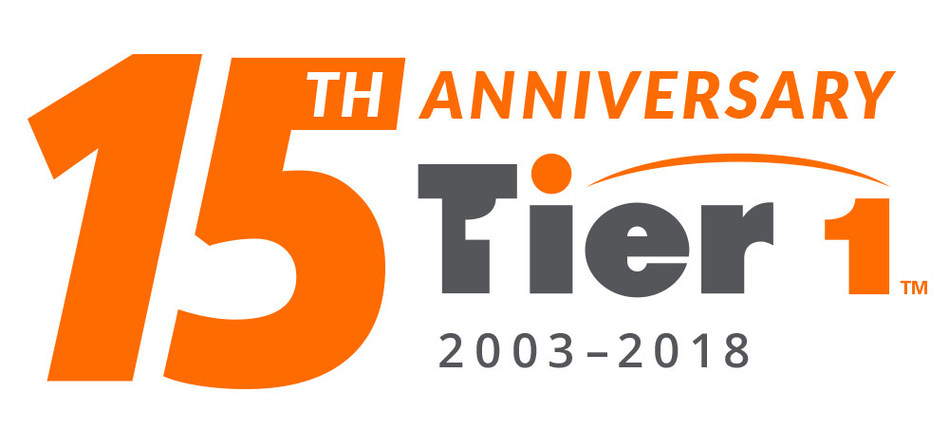 Tier1, Inc. - Celebrating 15 years