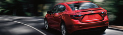 The 2018 Mazda3, now available at Matt Castrucci Mazda, is compared to competitor in Dayton, Ohio.