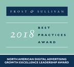 AdTheorent Earns Frost & Sullivan's Growth Excellence Leadership Award for its Data-Driven Digital Advertising Solutions
