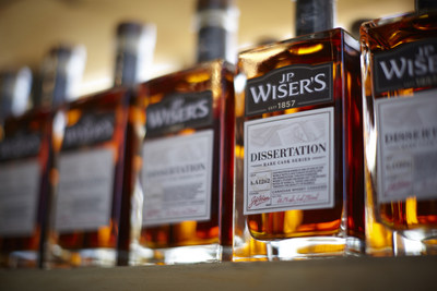 J.P. Wiser's Dissertation won the Best Canadian Blended Whisky at the World Whiskies Awards. (CNW Group/Corby Spirit and Wine Communications)