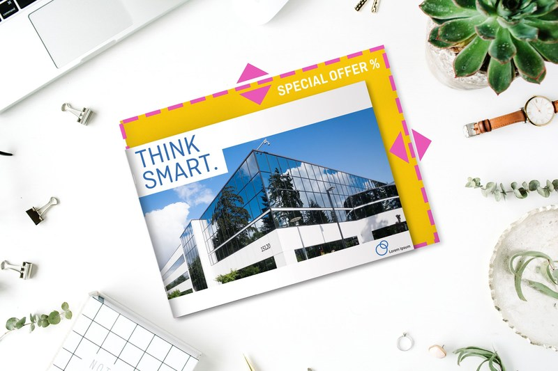 Besides large-format products such as posters, banners, adhesive films, flags and advertising signs, the custom size option has been expanded to include flyers and brochures produced to millimetre specifications. (PRNewsfoto/Onlineprinters GmbH)