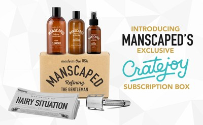 Manscaped Exclusive Subscription Offering on Cratejoy Platform