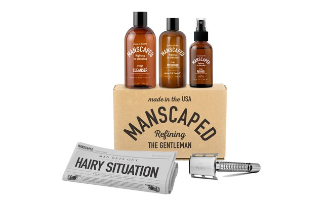 Manscaped Precision Engineered Tools and pH Balanced Formulations