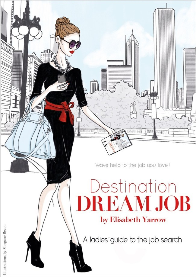 """Destination Dream Job encourages readers to think about their job search as a journey with their dream job as the destination. Through the course of the book, readers design a """"map"""" to help determine the job and salary they want to achieve, build a """"dream team"""" to enlist at every step, and create a """"packing list"""" for interviews, including tips for the right interview outfit, powerful questions and answers, and a thoughtful salary negotiation script."""