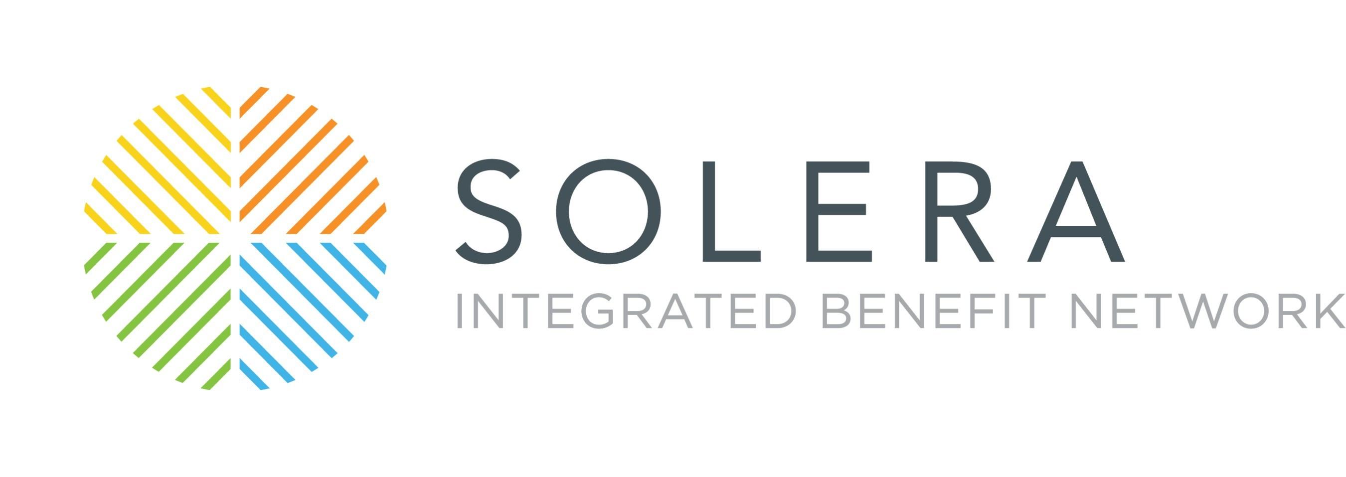 Solera Health, a leading integrated benefit network. (PRNewsfoto/Solera Health)