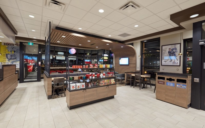 The new Welcome Image has been designed to provide Tim Hortons® Guests across the country with a more modern, open concept Restaurant they're looking for. (CNW Group/Tim Hortons)