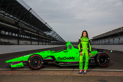 Danica's No. 13 GoDaddy Chevrolet