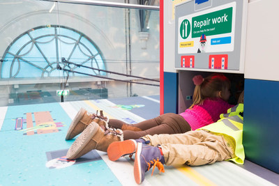 Jacobs teams with London Transport Museum to help bring the U.K.'s Year of Engineering 2018 to life with new interactive Future Engineers gallery. (Photo credit: London Transport Museum)