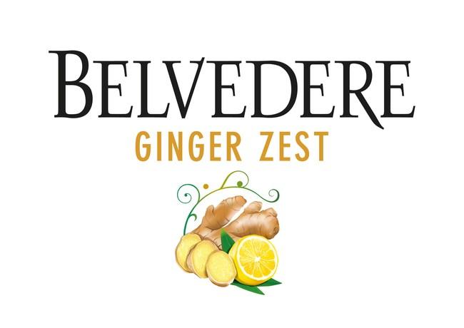 Belvedere Vodka Ginger Zest Logo