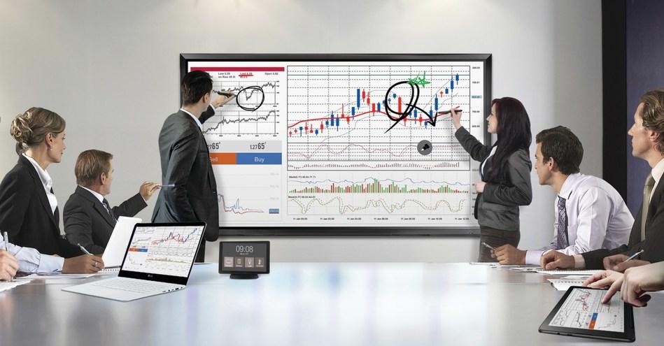 LG's 86-inch Advanced IPS Interactive Digital Board