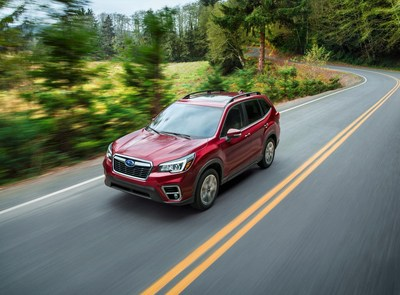 All-new 2019 Subaru Forester debuts at the New York International Auto Show
