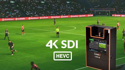 LiveU's 4K-SDI HEVC solution