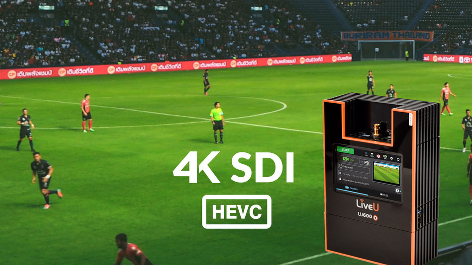 LiveU's 4K-SDI HEVC solution