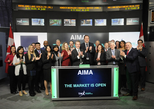 Alternative Investment Management Association (AIMA) Opens the Market (CNW Group/TMX Group Limited)
