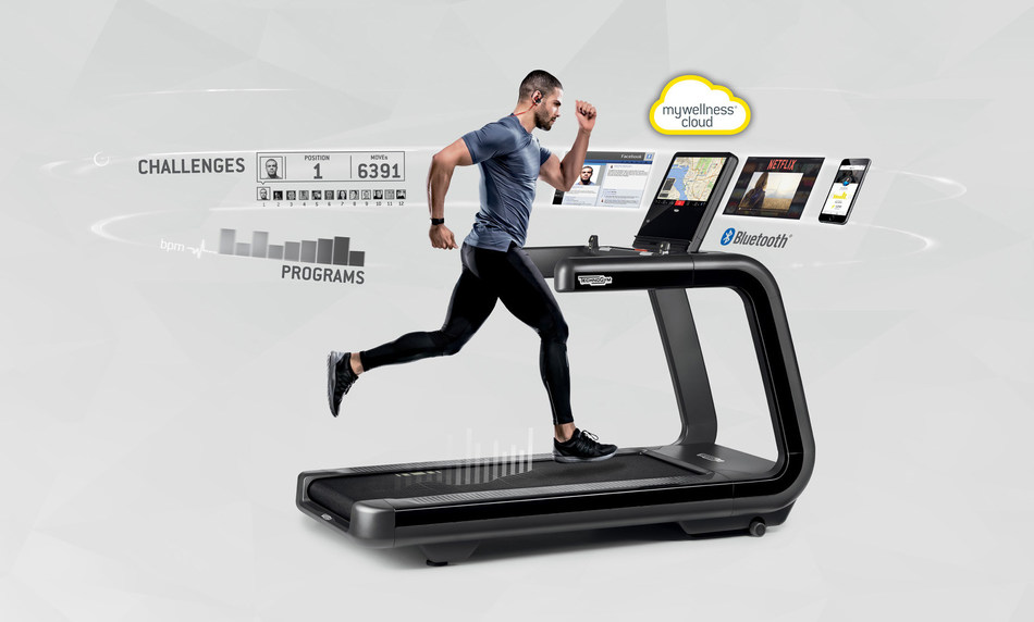Technogym Digital Ecosystem for connected Wellness (PRNewsfoto/Technogym)