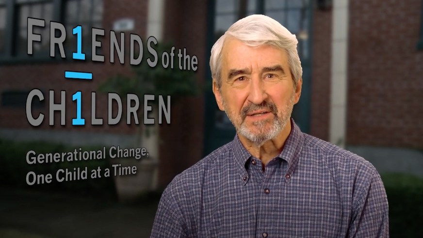 The Visionaries host and acclaimed actor Sam Waterston.