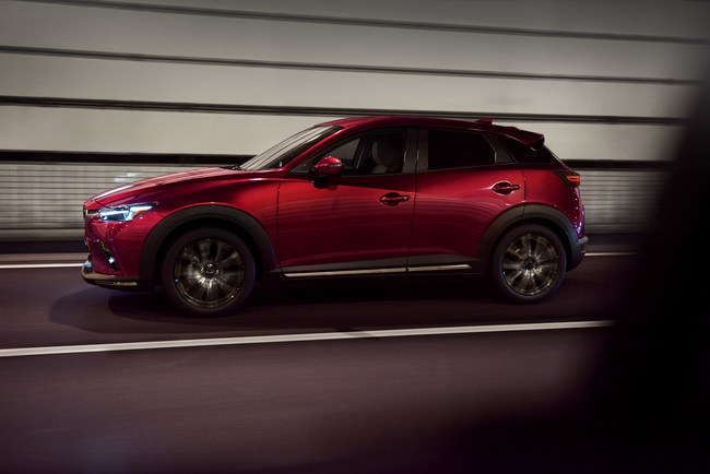 Mazda Introduces Updated 2019 CX-3 at 2018 New York International Auto Show