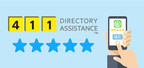 411 Directory Assistance Star Rating System (CNW Group/411 Directory Assistance)