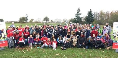 MUFG Union Bank volunteers at Maple Wood Playfield in Seattle, WA