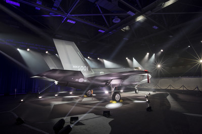 The first Republic of Korea F-35A makes its public debut in a special ceremony at Lockheed Martin in Fort Worth, Texas, March 28. Lockheed Martin photo by Alex Groves