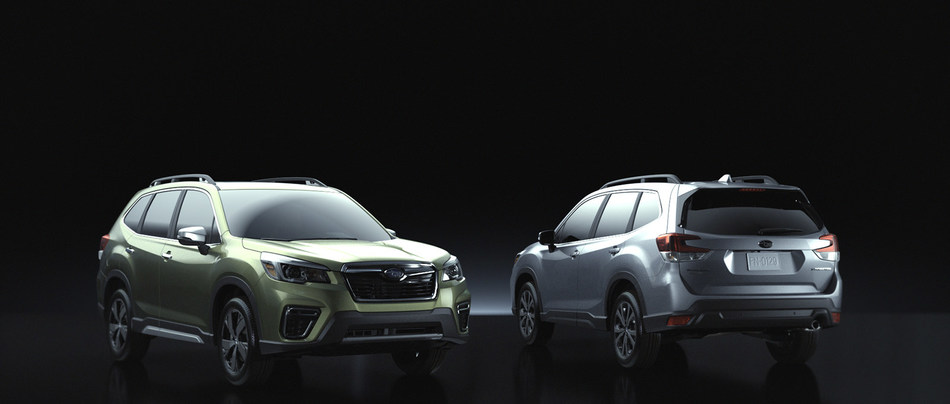 All-New 2019 Subaru Forester Makes Global Debut at New York International Auto Show (CNW Group/Subaru Canada Inc.)