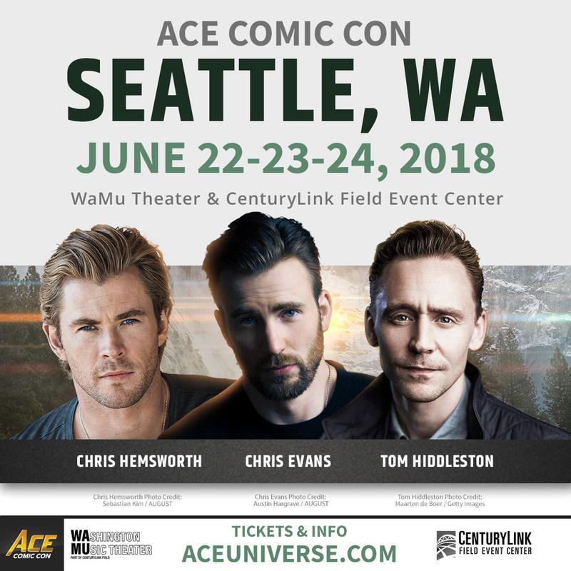 ACE Comic Con Seattle