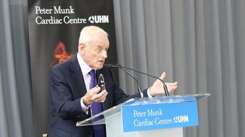 Peter Munk (CNW Group/University Health Network)