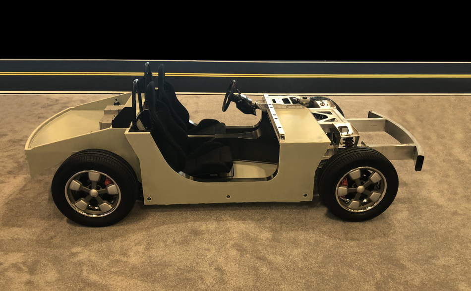 Meccanica Tofino Chassis (CNW Group/Electrameccanica Vehicles Corp.)