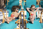 These boys are having a ball at Sunset Beach, the newest and largest of six pool areas at the Fairmont Scottsdale Princess resort in Arizona. Sunset Beach has 830 tons of cool white sand, a zero-entry pool, pop-jets and glamorous cabanas.