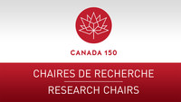Logo: Canada 150 Research Chairs Program (CNW Group/Social Sciences and Humanities Research Council of Canada)
