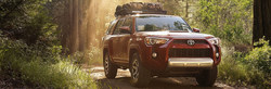 The now-available 2018 Toyota 4Runner is extremely capable of getting off the highway and onto the trail.