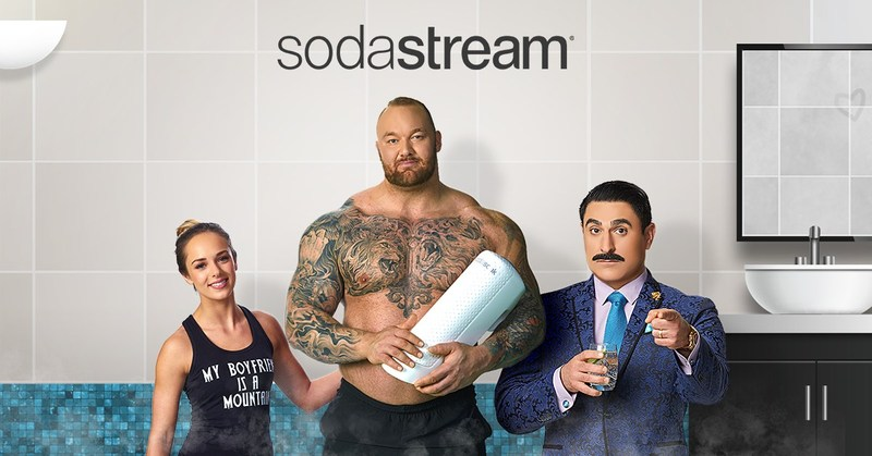 (PRNewsfoto/SodaStream International Ltd.)