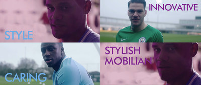 Nexen Tire lança novo vídeo da marca em colaboração com Manchester City Football Club (PRNewsfoto/Nexen Tire)