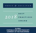 Nanalysis Earns Frost & Sullivan's Company of the Year Award in the Portable NMR Spectroscopy Market