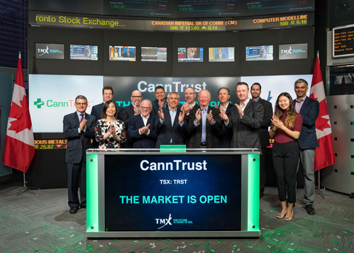CannTrust Holdings Inc. Opens the Market (CNW Group/TMX Group Limited)